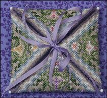 JN279 • Spring in the Meadow - may be framed or finished as a needle case