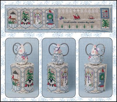 JN320LE Winter Mouse Scissor Roll - click for larger image.