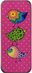 NST01 Pink Flirty Birds Needle Slide