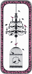 NST06 Just Nan Bird Cage Chandelier Needle Slide