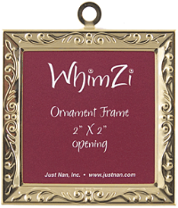 Just Nan WFGE01 Gold Embossed WhimZi Frame